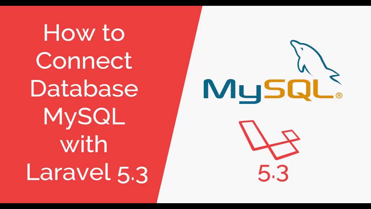 Laravel Connecting to MySQL database - Laravel 5